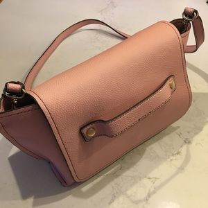 ZARA trafaluc pink shoulder bag